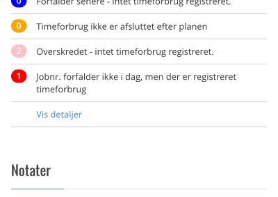 status-oversigt